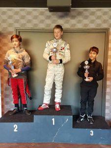 Rookie-podium